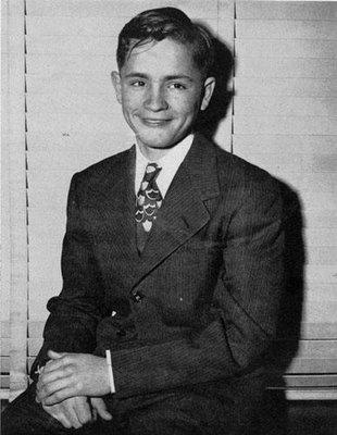 Charles Manson com 14 anos de idade