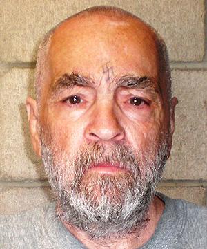 Charles Manson em 2009, mais de 60 anos em prisões