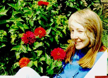 Lynette Fromme em seu jardim de Marianna