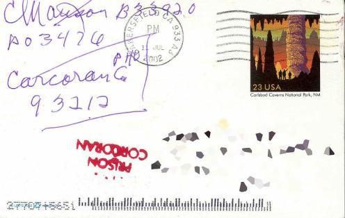 Frente do Cartão Postal